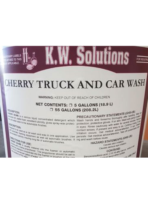 KW Solutions Cherry Truck and Car Wash