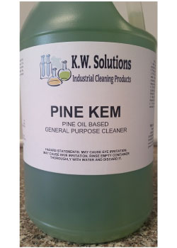 Pine oil based cleanser by KW Solutions, Inc.