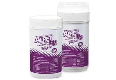 Alpet surface sanitizing wipes